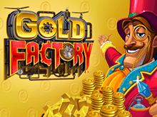 Онлайн слот Фабрика Золота