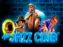 Джаз Клуб – виртуальный слот онлайн