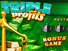 Играть на настоящие деньги с банковской карты в Triple Profits